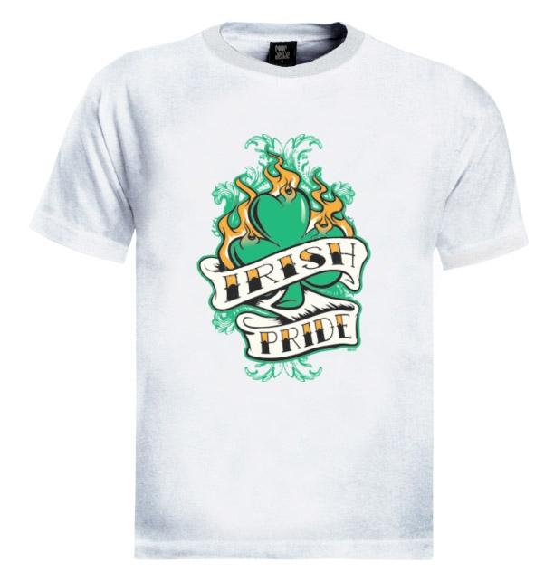 Irish Drinking Toast St Patrick S Day Shirt By: IRISH PRIDE St.Patricks T-Shirt GREEN BEER Pub Drinking