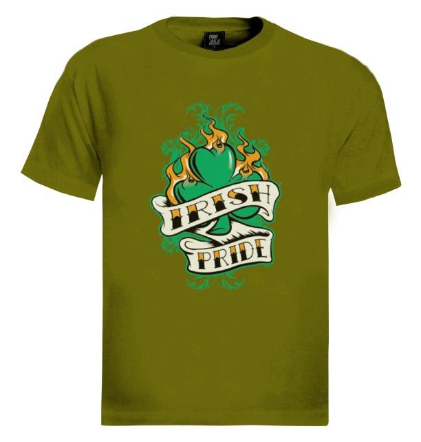Irish Drinking Toast St Patrick S Day Shirt By: Irish Pride T-Shirt For St.Patricks Day Patty's Gift