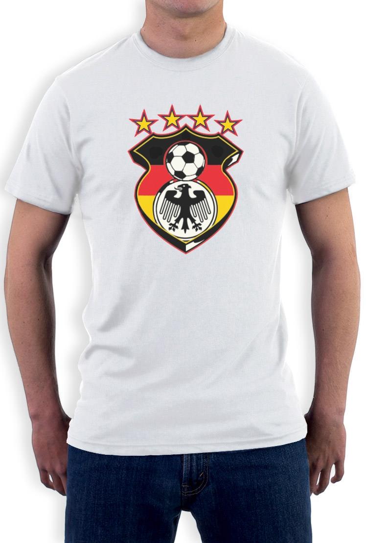 Germany soccer t shirt football jersey eagle crest 2015 for Womens brazil t shirt