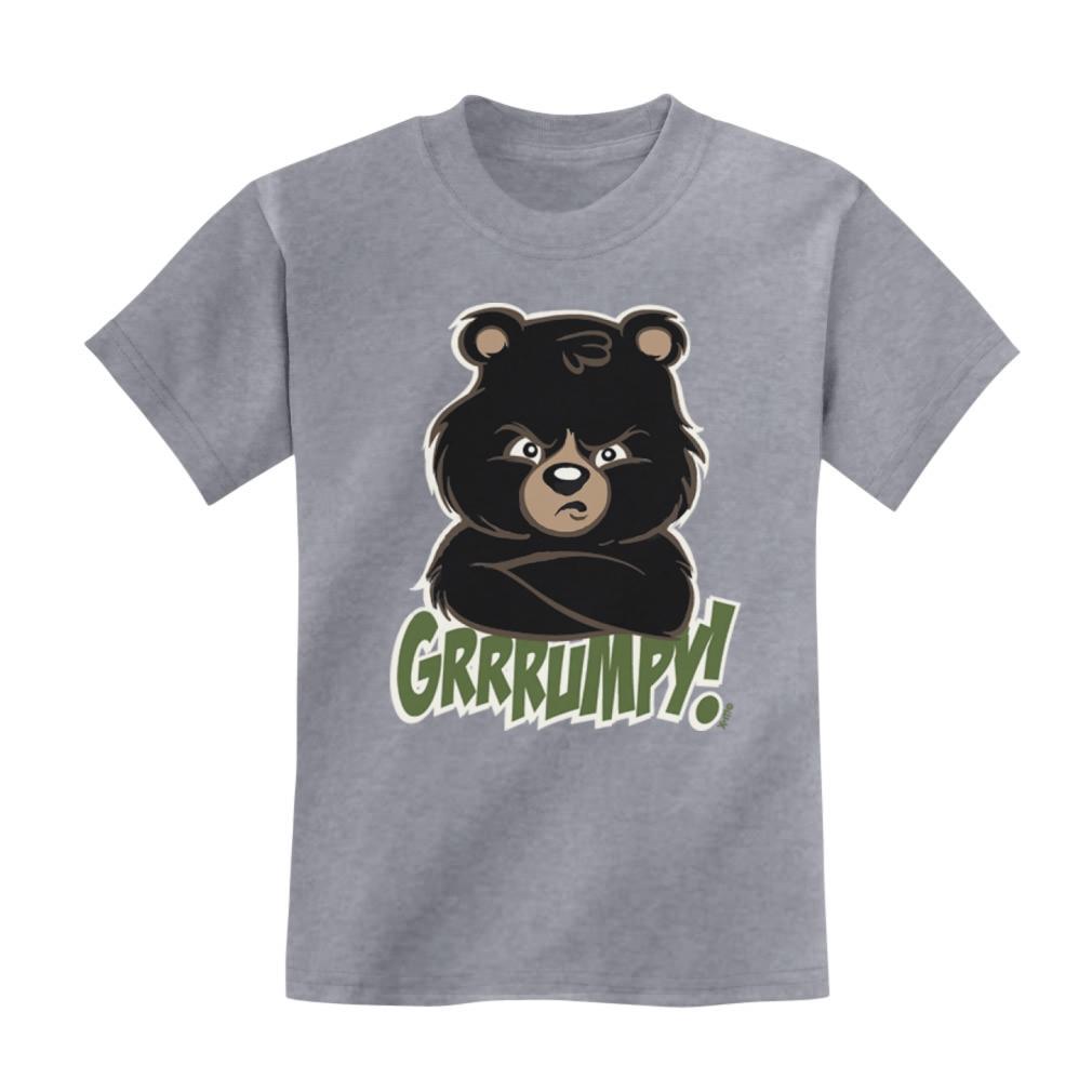 Grumpy Bear Toddler T-Shirt Toddler Birthday Gift Idea