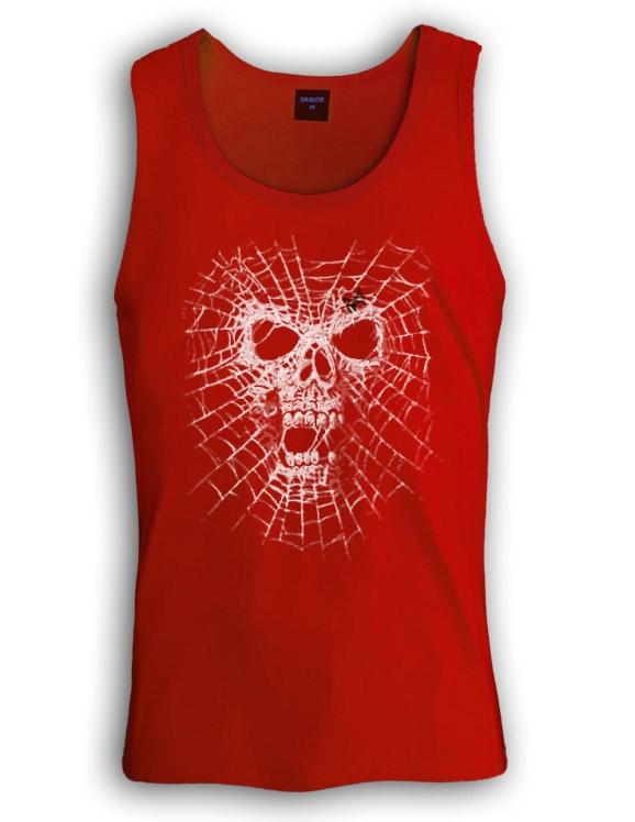 Black widow singlet spider skull skeleton web dark evil for Sell shirts on your website