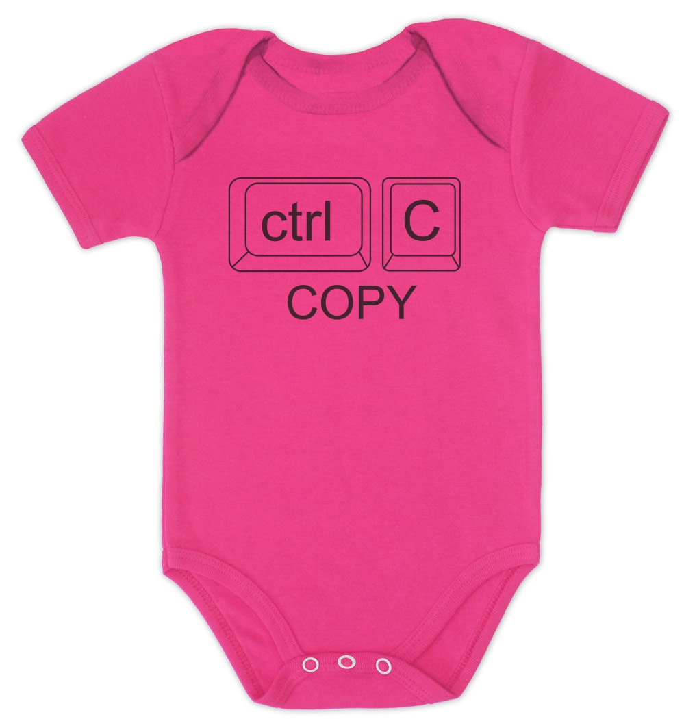 copy paste ctrl twins baby onesie clothing shower gift cute boy, Baby shower