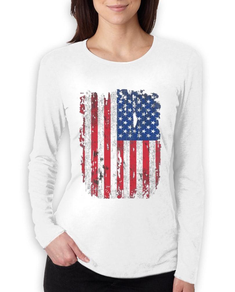 Usa 4th Of July Pride Vintage Distressed American Flag