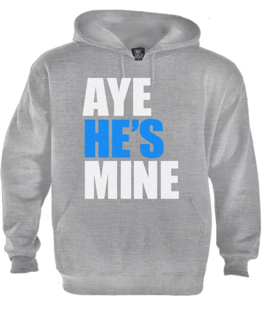 Aye He S Mine Couple Matching Hoodie Cute Aye She S Mine