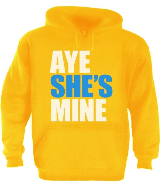 Aye She S Mine Couple Matching Hoodie Cute Aye He S Mine