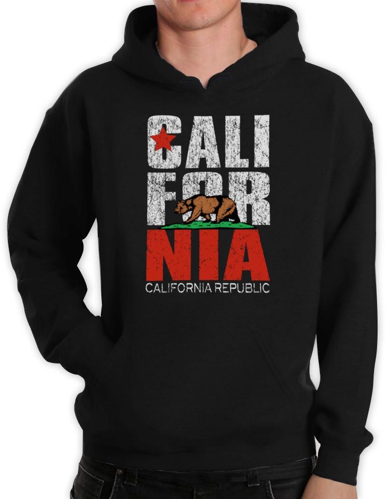 California bear hoodie