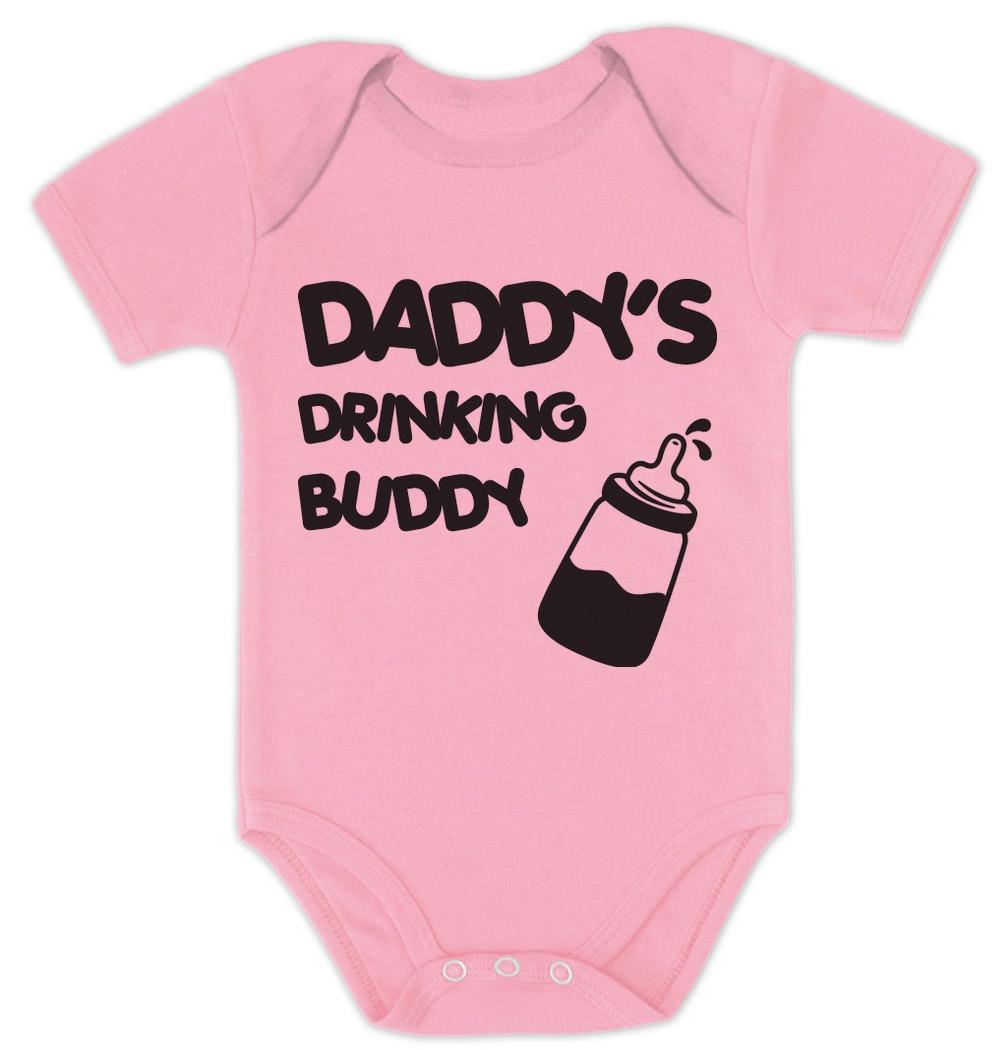 Daddy 039 S Drinking Buddy Baby Bodysuit Baby