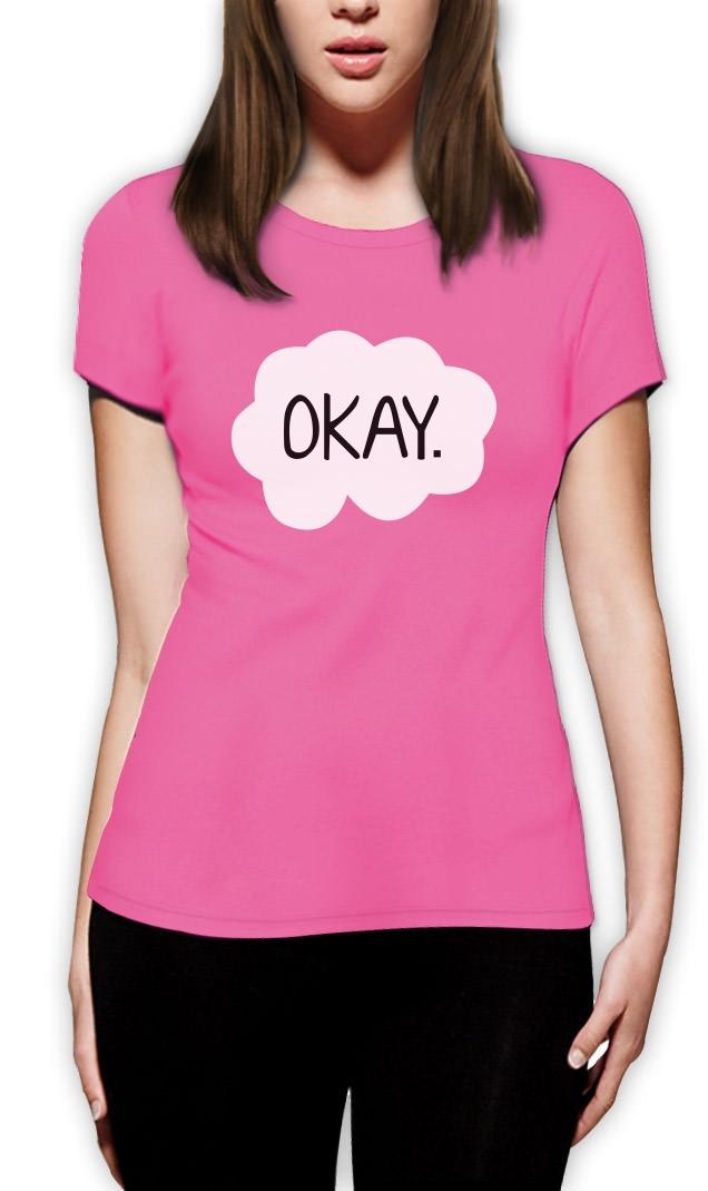 Okay? Okay. Matching Couples Women T-Shirt best friends Stars ...