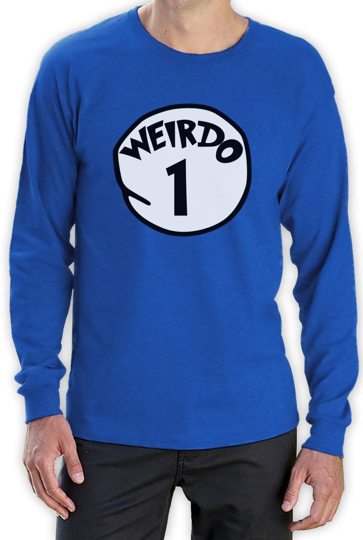 Weirdo 1 Costume Long Sleeve T-Shirt Halloween Party Matching BFF ...