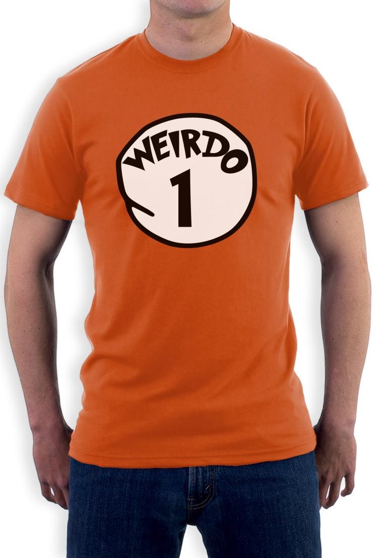 Weirdo 1 Costume T-Shirt Halloween Party Matching couples Best ...