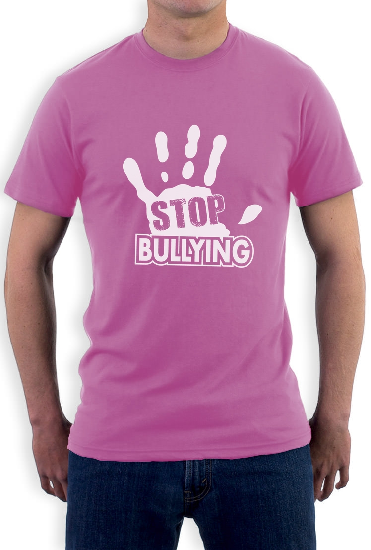 Stop Bullying Pink Shirt Day Anti-Bullying T-Shirt Support
