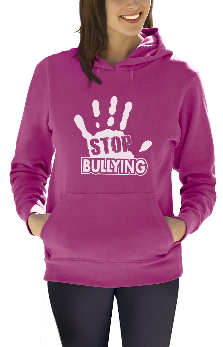Stop Bullying Pink Shirt Day Anti-Bullying Women Hoodie Support