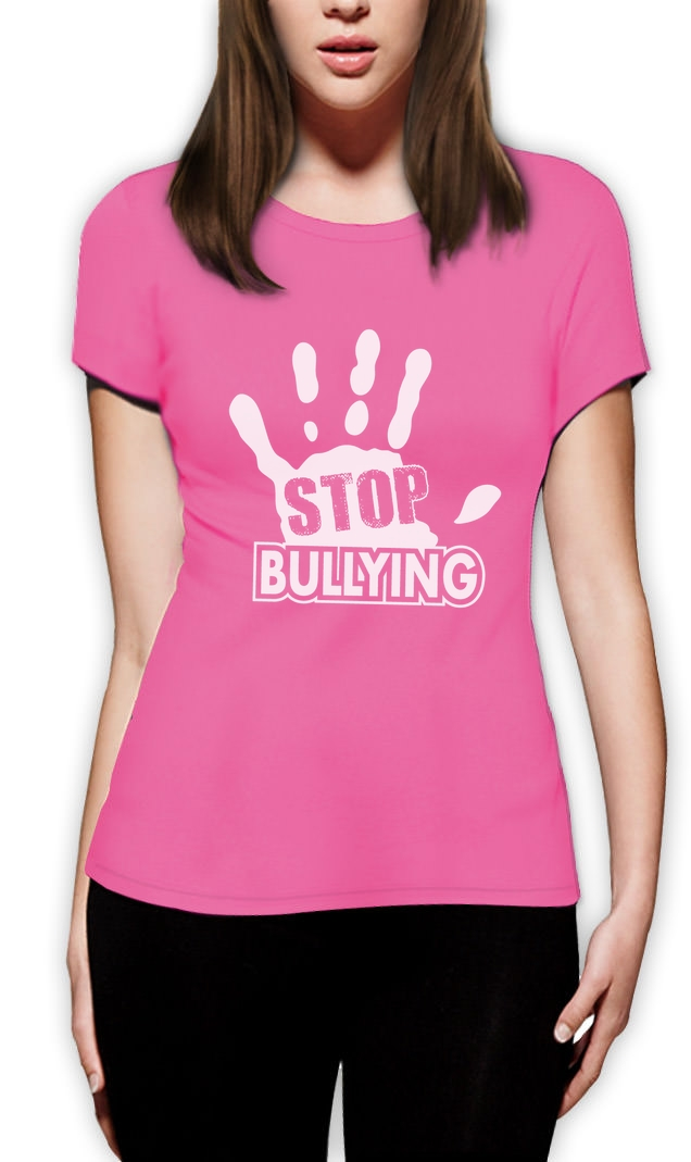 Stop Bullying Pink Shirt Day Anti-Bullying Women T-Shirt Support