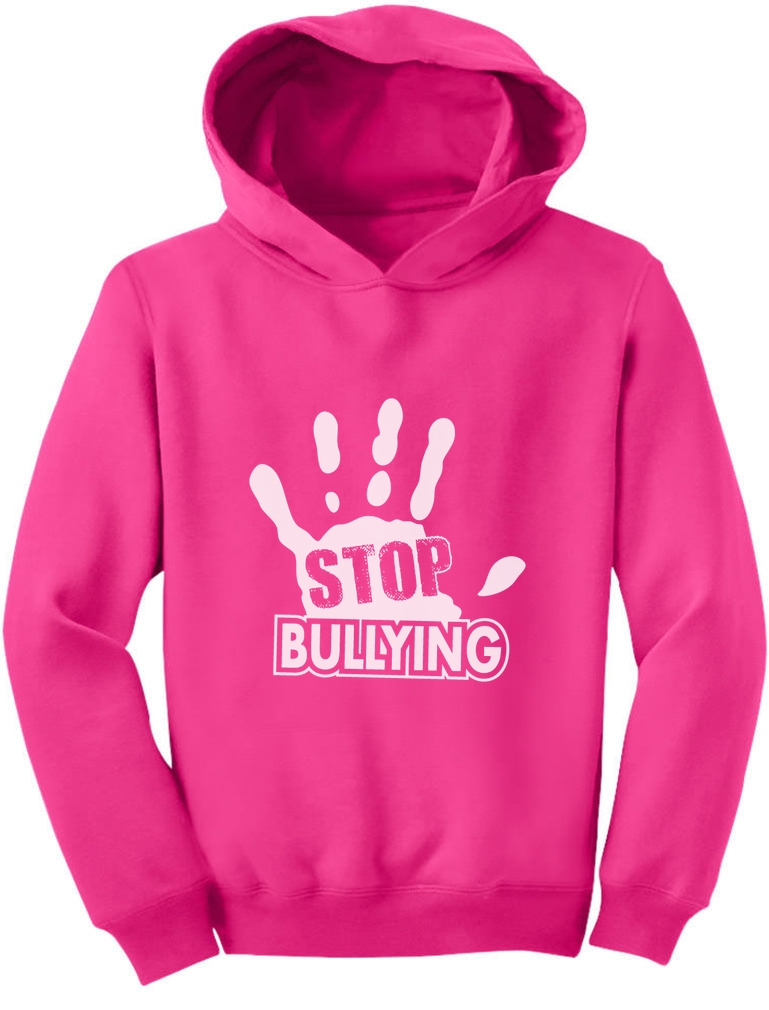 Stop Bullying Pink Shirt Day Anti-Bullying Speak Up Toddler Hoodie ...