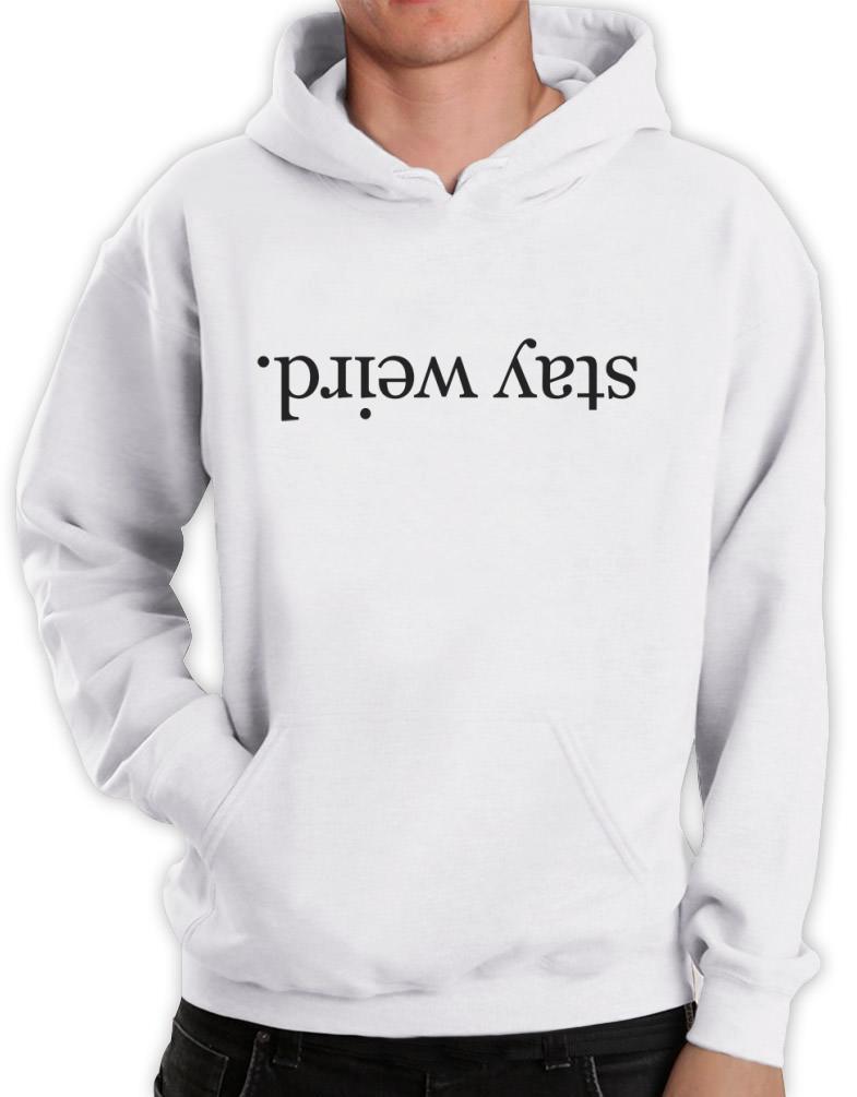 Weird hoodies