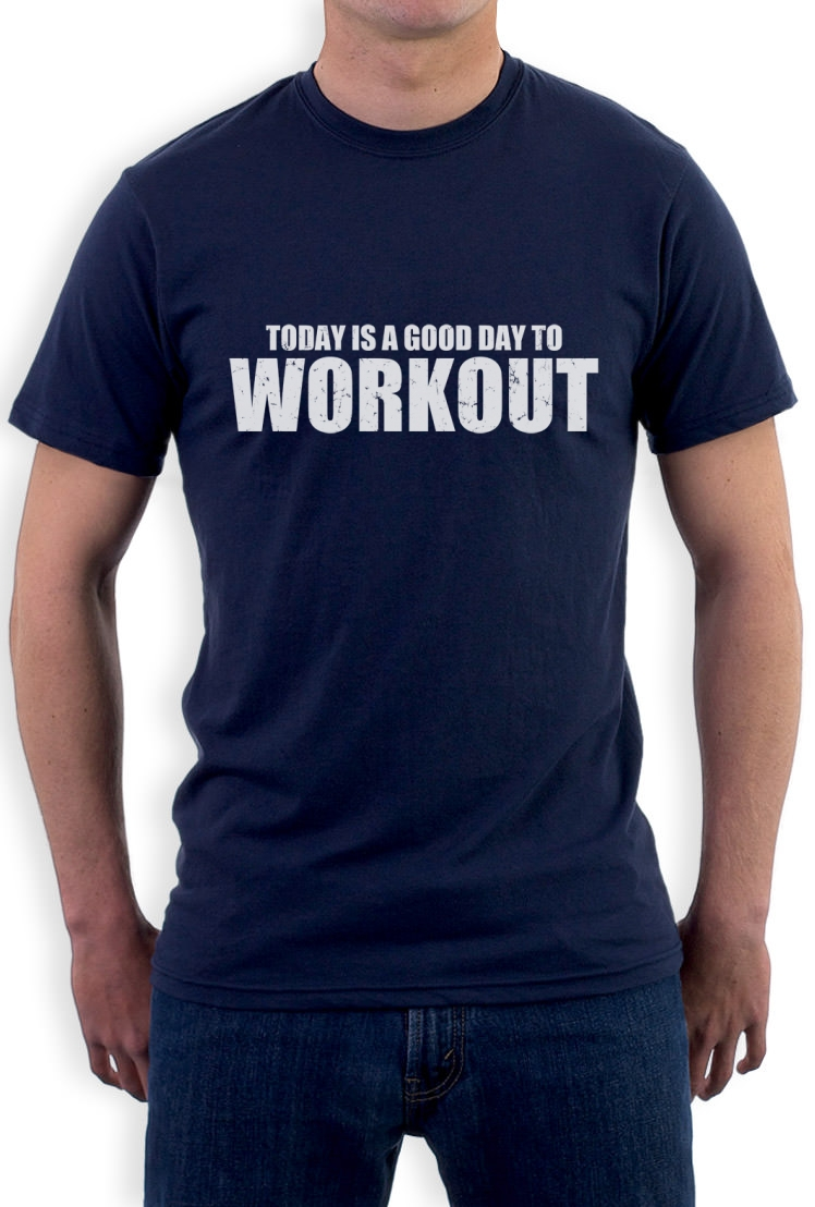 A good day to workout t shirt gym training workout for Best work out shirts