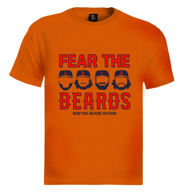 [10% OFF] New England Patriots fear the beard shirt