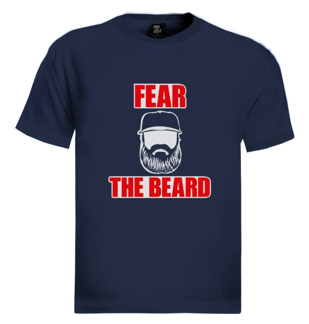 Baseball Boston Red Sox Fear The Beard Shirt - TeePython