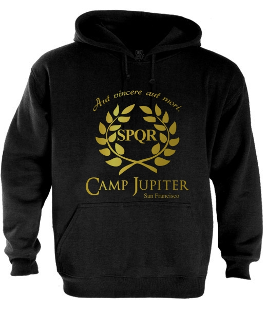 CAMP HALF-BLOOD Branches Hoodie CAMP JUPITER SPQR Purple ... Camp Jupiter Shirt Percy Jackson