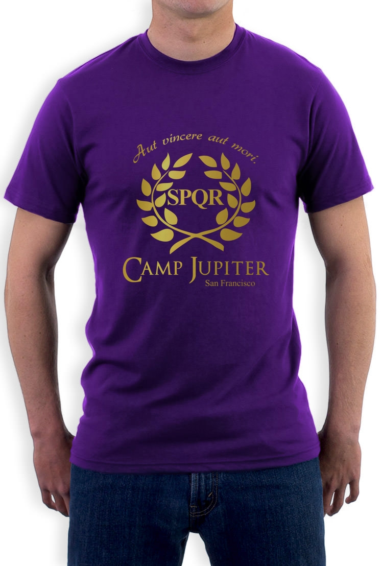 Clothing  Shoes  amp  Accessories  gt  Men s Clothing  gt  T-ShirtsCamp Jupiter Shirt Percy Jackson