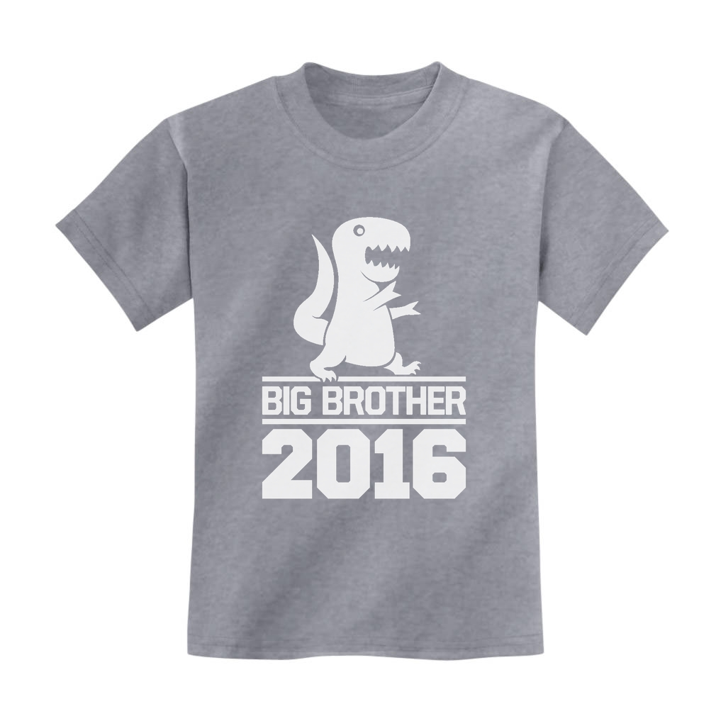 Big Brother 2016 Kids TShirt New Baby Announcement Siblings Cute – T Shirt Baby Announcement