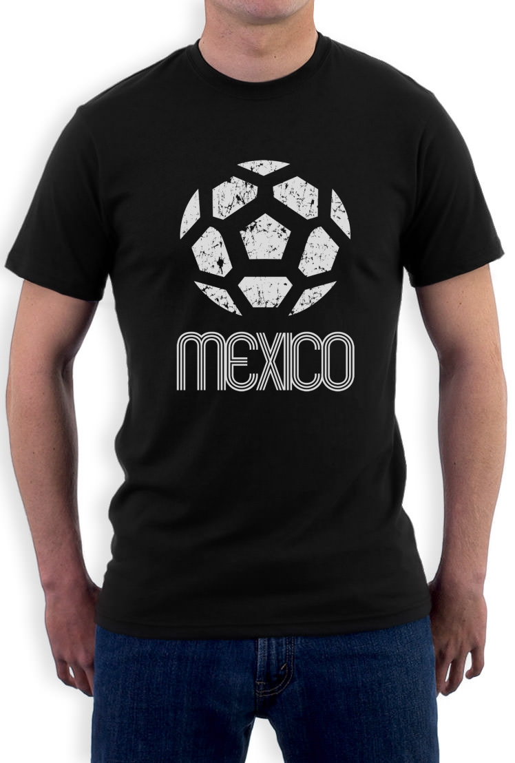 Mexico classic t shirt retro football copa america 2015 American football style t shirts