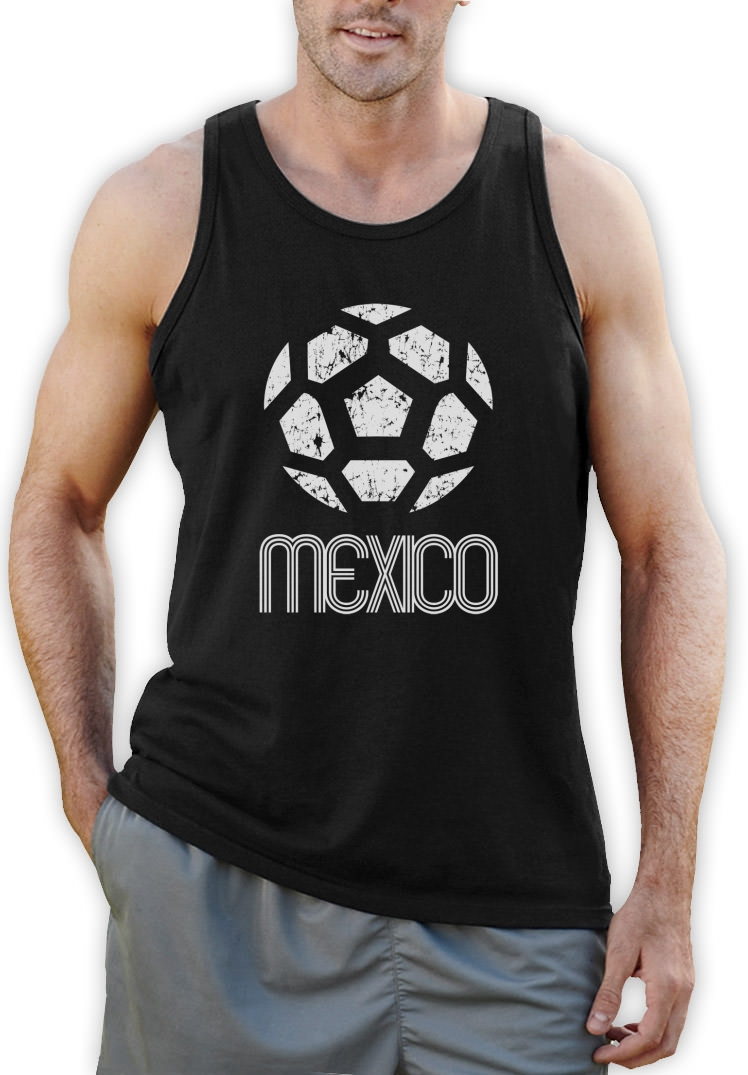 Mexico Classic Singlet Retro Football Copa America 2015: american football style t shirts