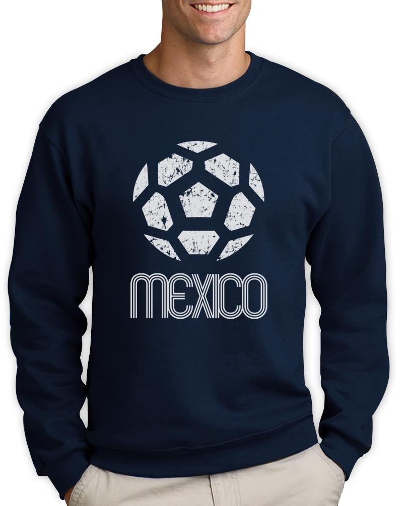 Mexico classic sweatshirt retro football copa america 2015 American football style t shirts