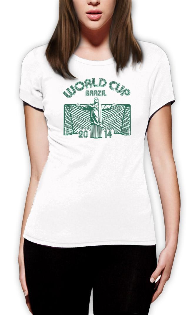 World cup brazil 2014 women t shirt parody joke football for Womens brazil t shirt
