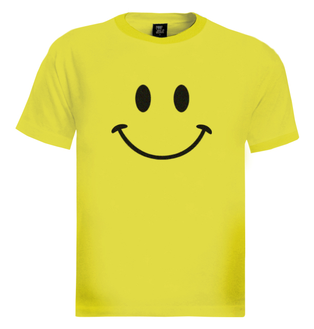 retro smiley face t shirt funny cool tee 80 39 s look ebay. Black Bedroom Furniture Sets. Home Design Ideas