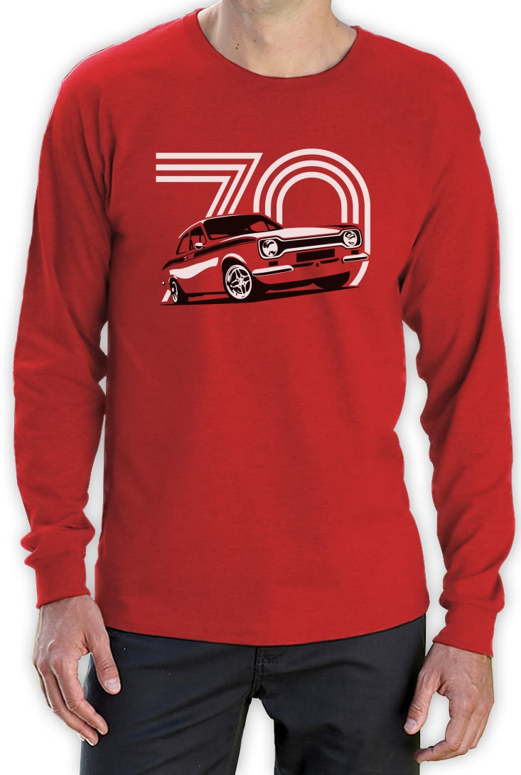 70 Year Old Escort Long Sleeve T Shirt 70th Birthday Gift