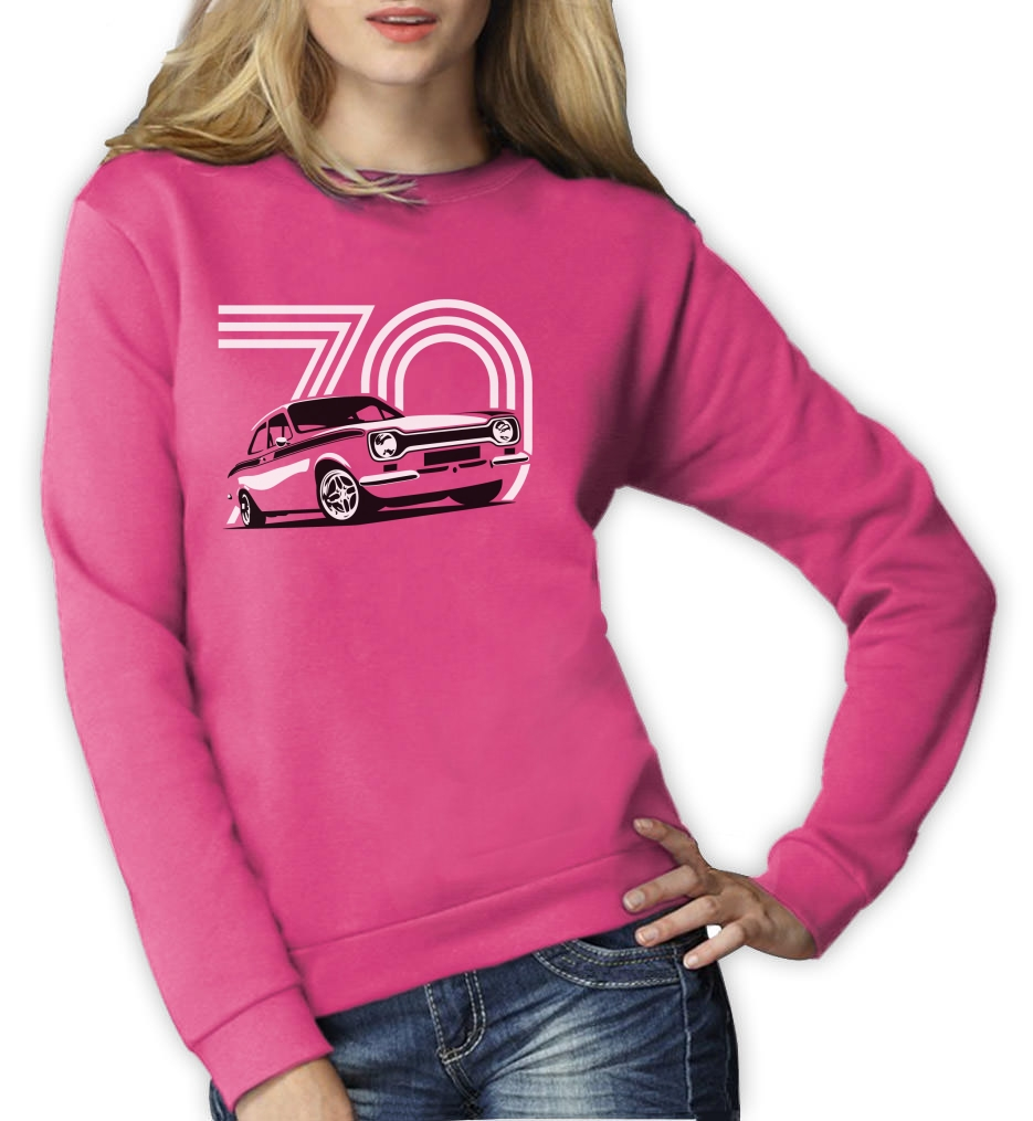 70 Year Old Escort Women Sweatshirt 70th Birthday