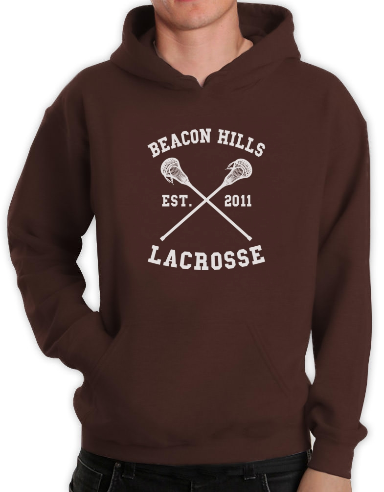 beacon hills lacrosse hoodie stilinski wolf teen movie. Black Bedroom Furniture Sets. Home Design Ideas