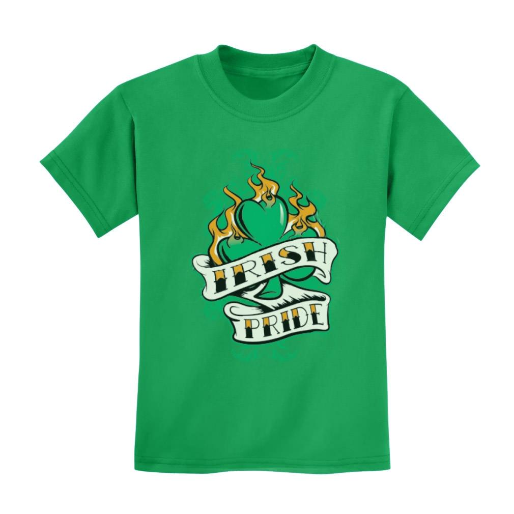 Patrick/'s Day Shamrock Lucky Cute Irish Top Tee Irish Pride Kids T-Shirt For St