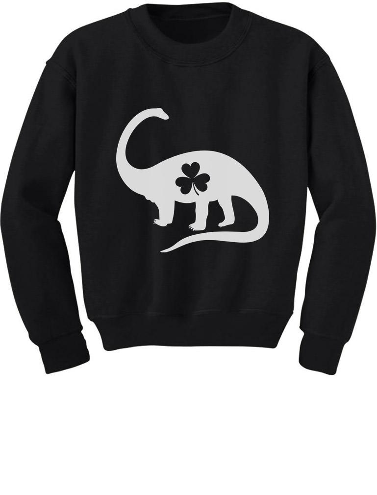 4b4e275e3 Details about Irish Dinosaur Clover St. Patrick's Day Gift Toddler/Kids  Sweatshirts Shamrock