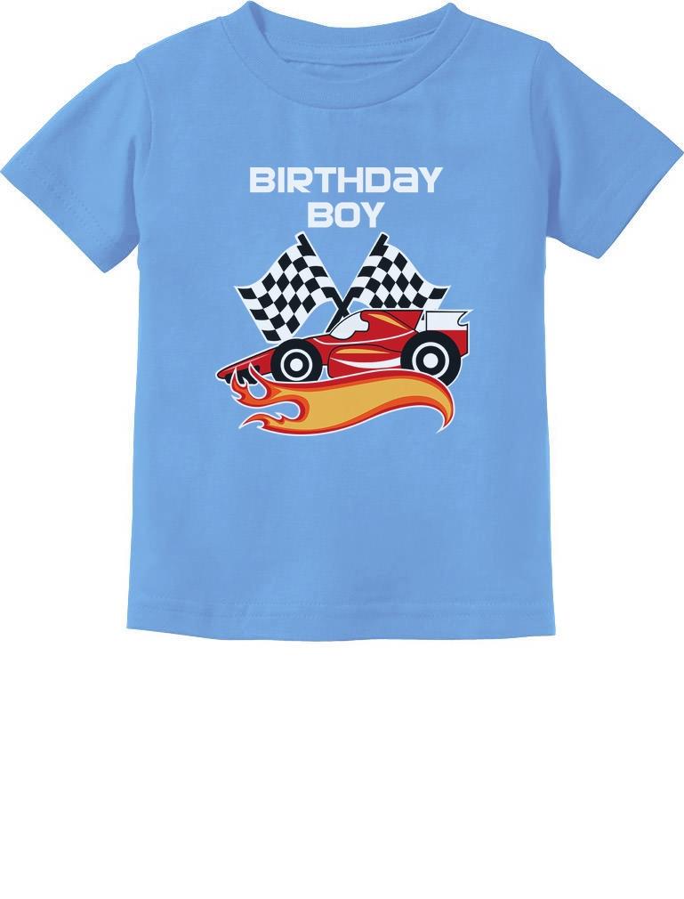 Race Car 2nd Birthday Shirt Toddler Boy Second Bday tshirt Racecar Trendy Gift 2