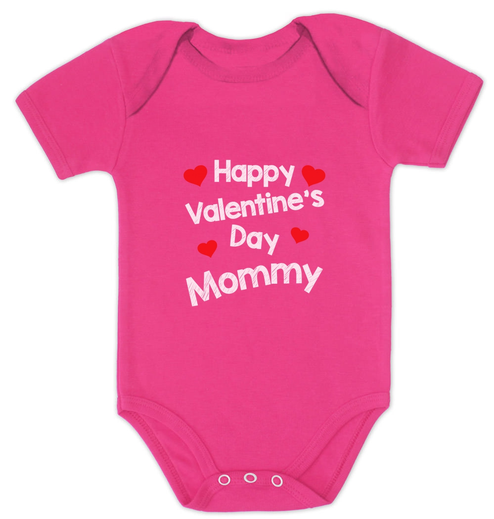 Valentines Day- Infant Bodysuit here and here Mommy was here. Baby