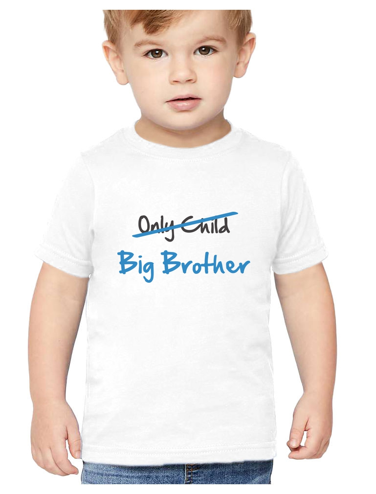 Sibling Tractor Gift for Big Brother Youth Kids T-Shirt T-Shirt