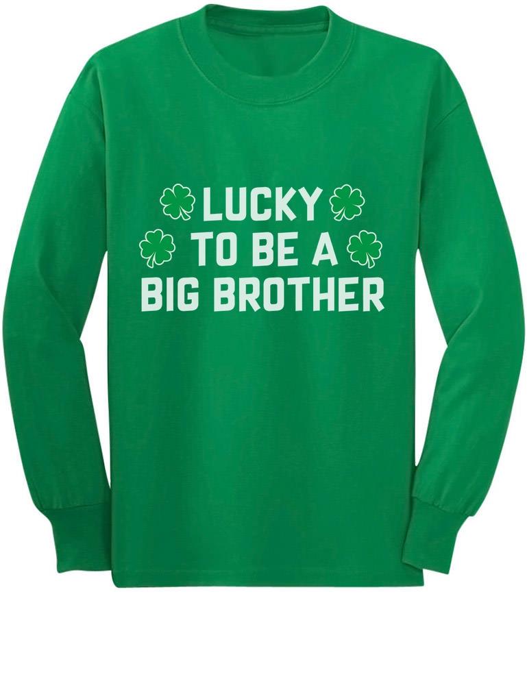 Brother Saurus Cute Boy T-Rex Gift for Big Brother Kids T-Shirt Tstars