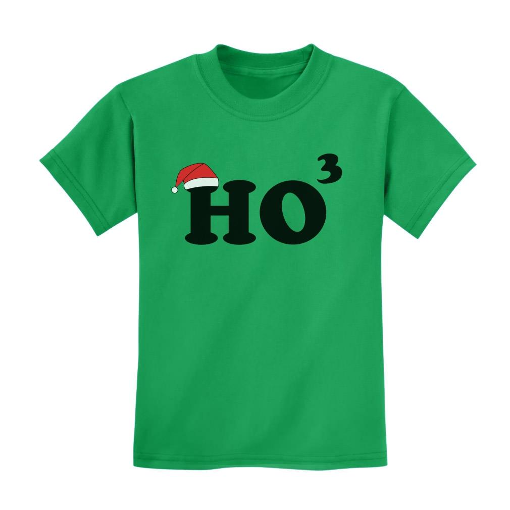 Ho Ho Ho Kids T-Shirt Christmas Santa Funny Xmas Math ...