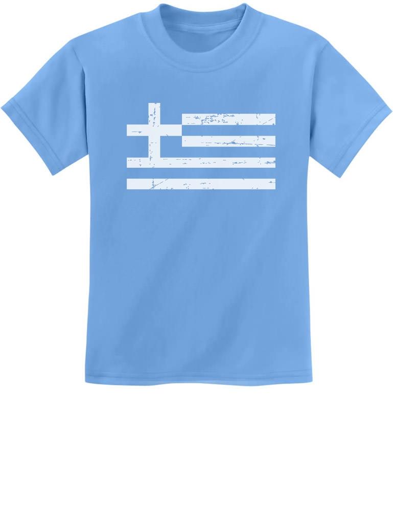 Greece Greek Flag Youth T-shirt