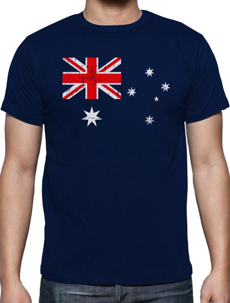 Australian Flag Vintage Style Retro Australia Flag T-Shirt Gift idea