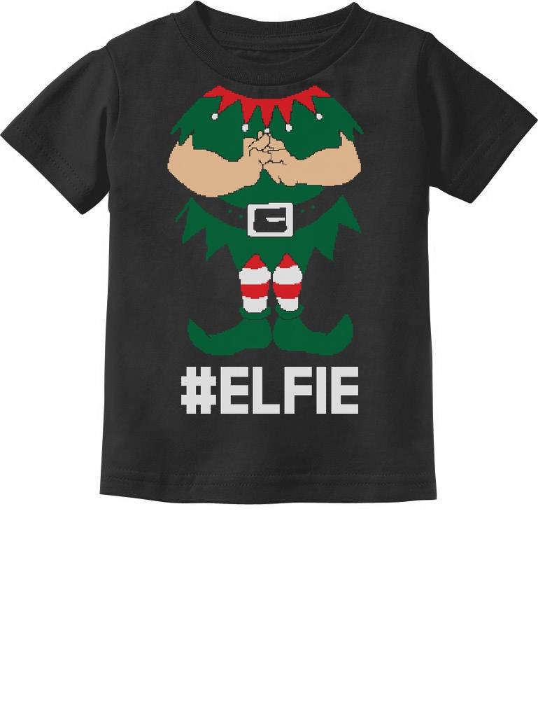 Brother Elf Cute Christmas Gift Santa/'s Elf Toddler//Kids Long sleeve T-Shirt