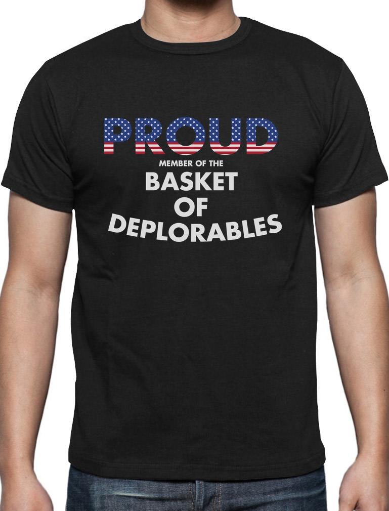 Proud Member of the Basket of Deplorables Singlet Deplorable American