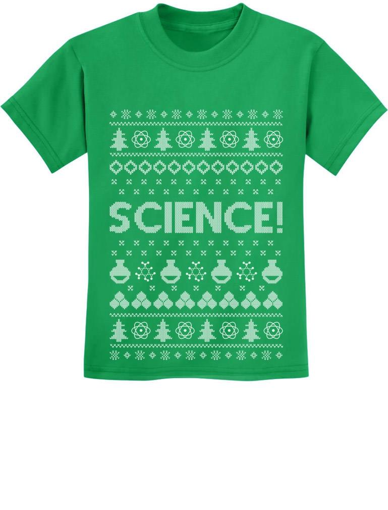 Ugly Christmas Youth Kid/'s T-shirt funny Xmas tee Santa Did You Get My Text