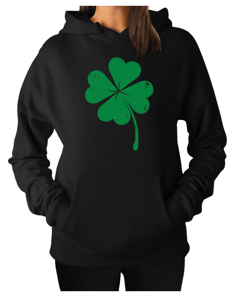 e3240bd0 Irish Shamrock - Saint Patrick's Day Ireland's Clover Women Hoodie ...