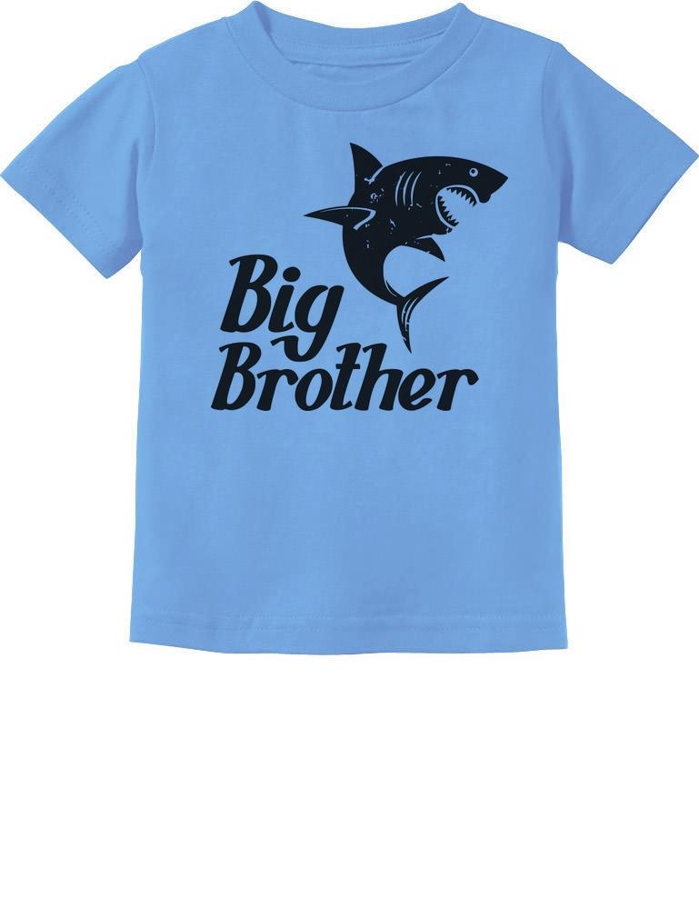 Big Brother Gift for Shark Loving Boys Toddler//Kids Long sleeve T-Shirt Siblings