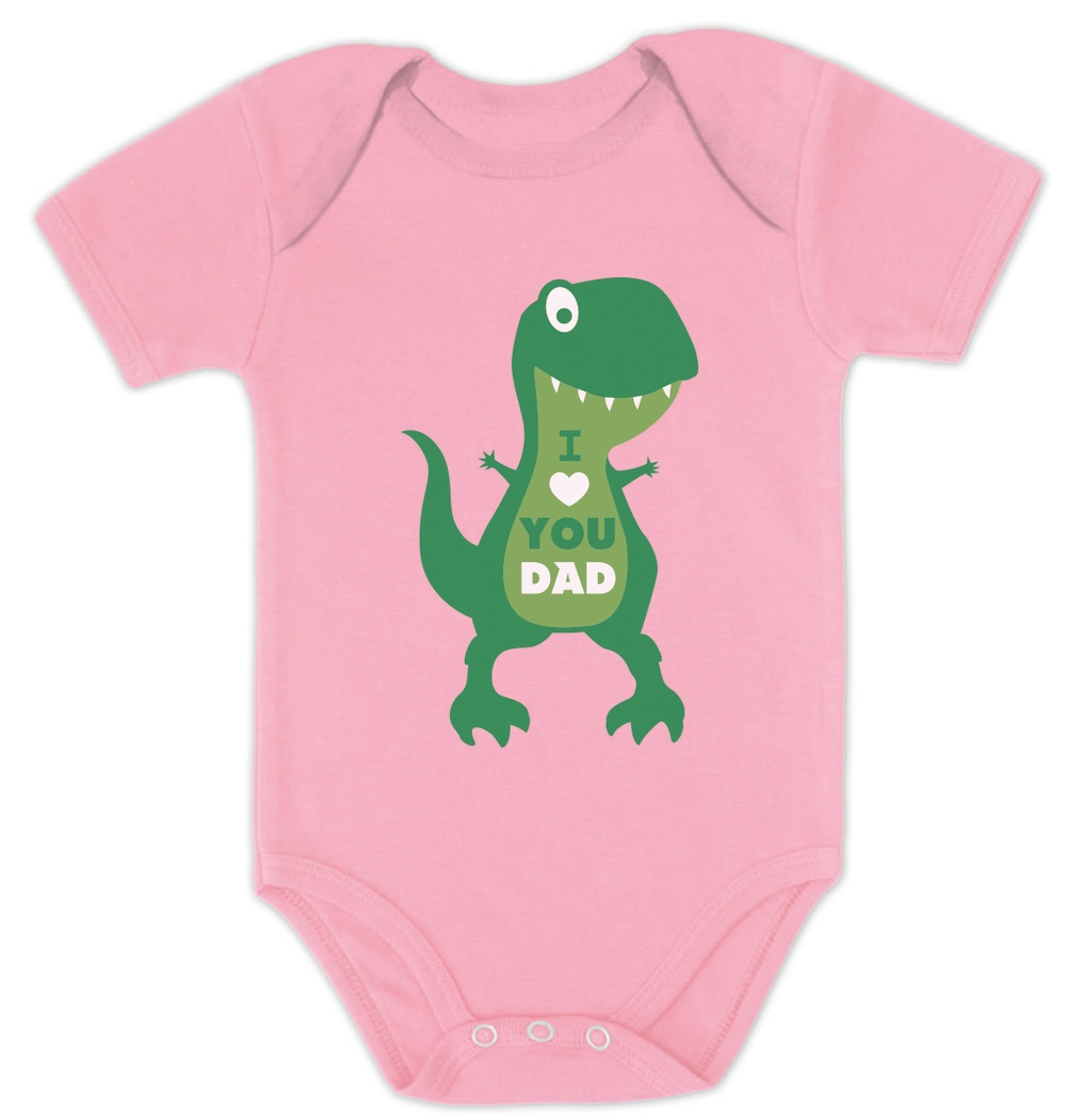 Threadrock Baby I Love Dad Infant Bodysuit Father/'s Day Valentine/'s Day Daddy