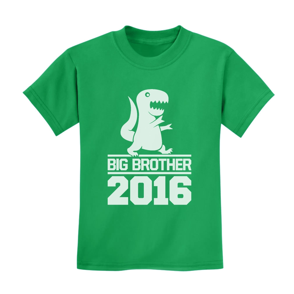 Big Brother 2016 Kids T-Shirt New Baby Announcement ...