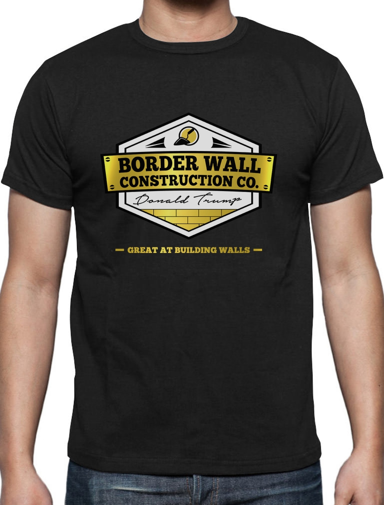 Trump construire un mur Hommes Femmes Unisexe T Shirt T-shirt Débardeur Baseball Sweat à capuche 3407